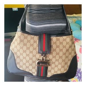 Authentic Gucci Jackie O Hobo Bag